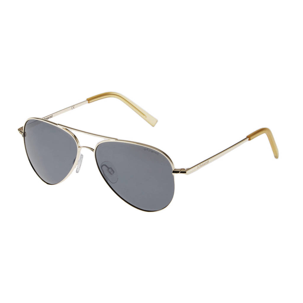 Polaroid kids zonnebril 8015/N goudkleurig