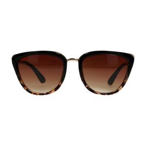 zonnebril zwart/bruin