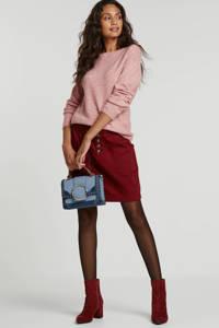anytime gemêleerde trui roze, Roze