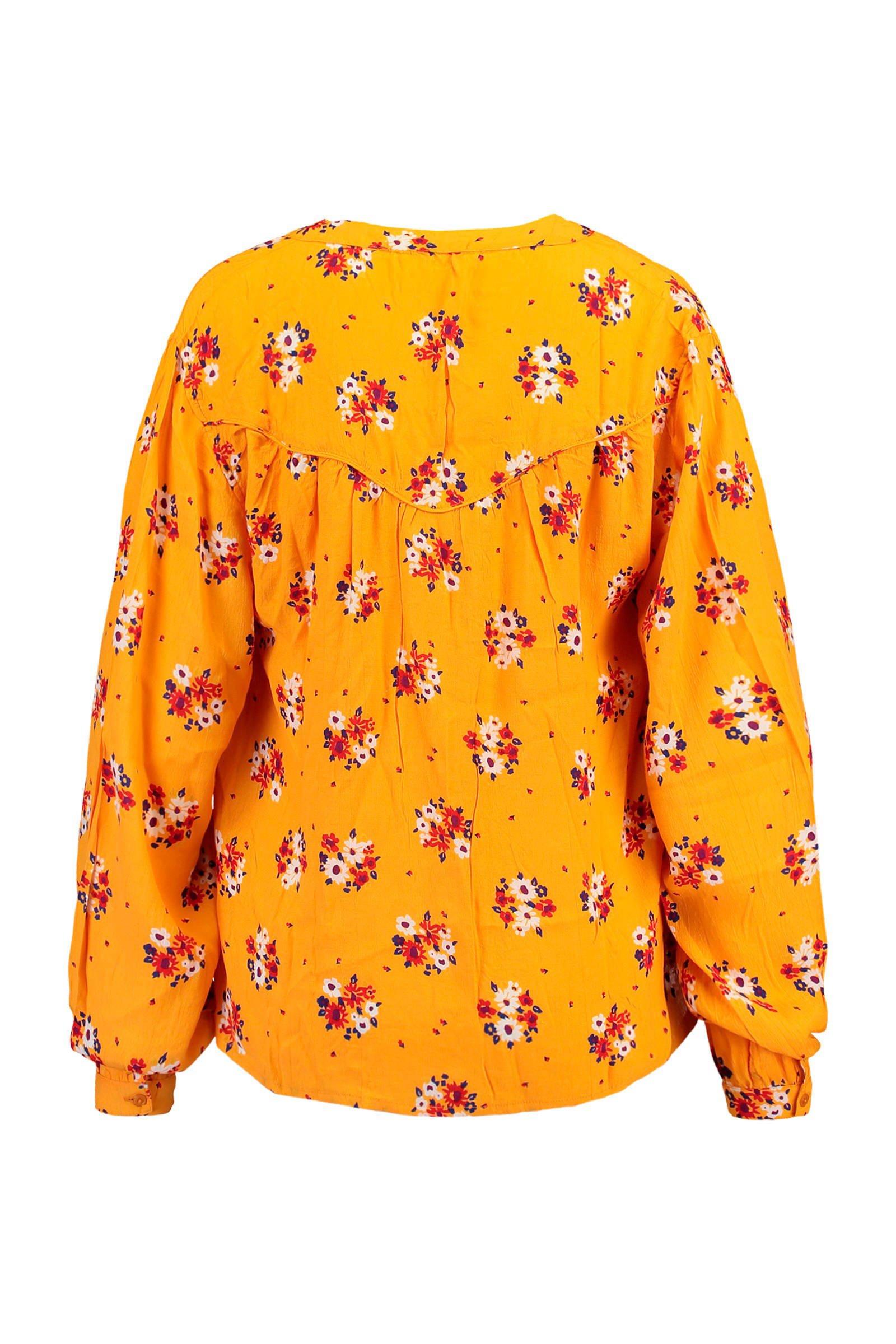 gebloemde America okergeel America blouse gebloemde blouse okergeel okergeel Today America Today Today gebloemde blouse gebloemde Today America qpR7q8