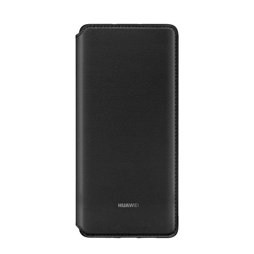Huawei P30 Pro wallet cover, Zwart