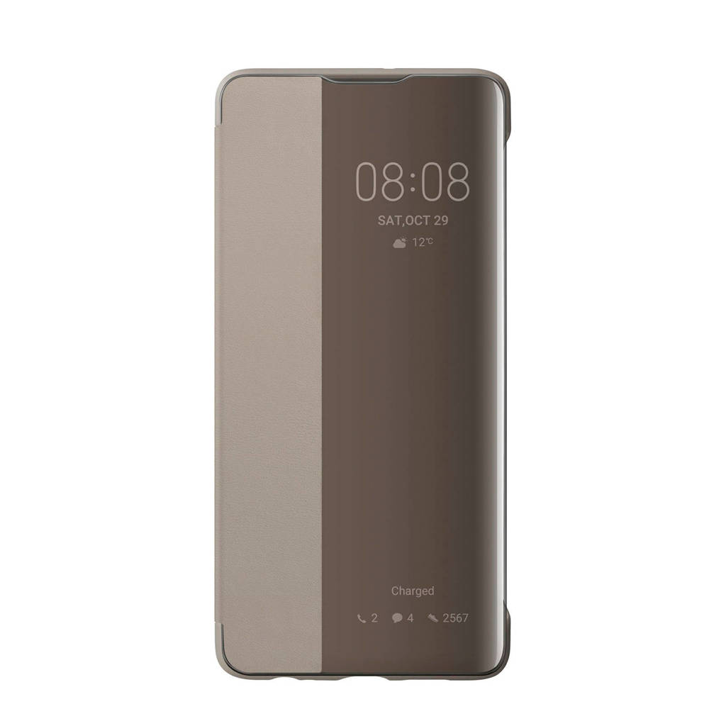 Huawei P30 Smart View Flip Cover, Grijs