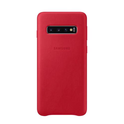 Samsung Galaxy S10 leren backcover kopen