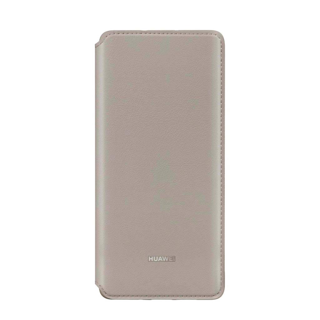 Huawei P30 Pro wallet cover, Grijs
