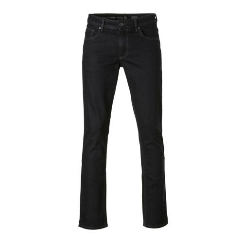 C&A The Denim straight fit jeans donkerblauw