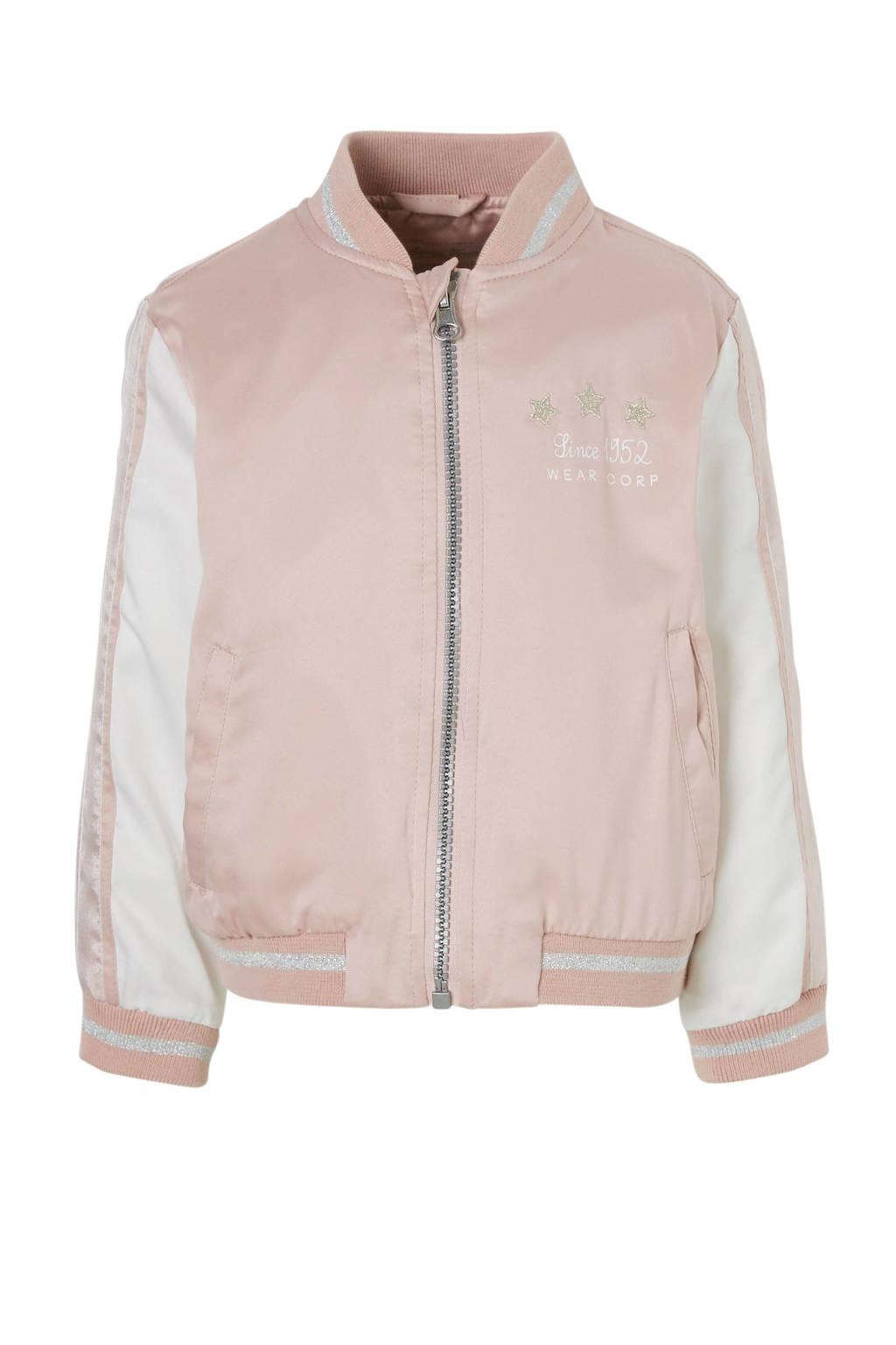 C&A Palomino bomberjack roze, Licht oudroze