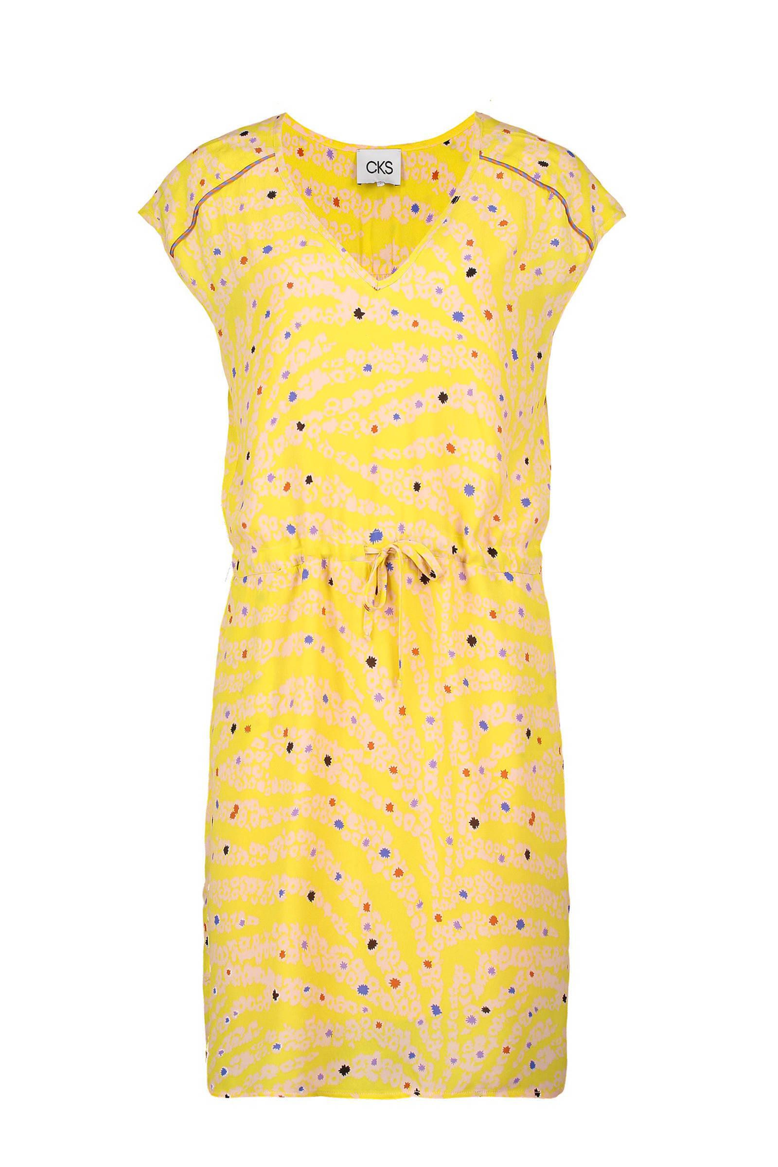 eaf7a94c2e cks-jurk-met-zebra-en-allover-print-geel-geel-5400822342657.jpg