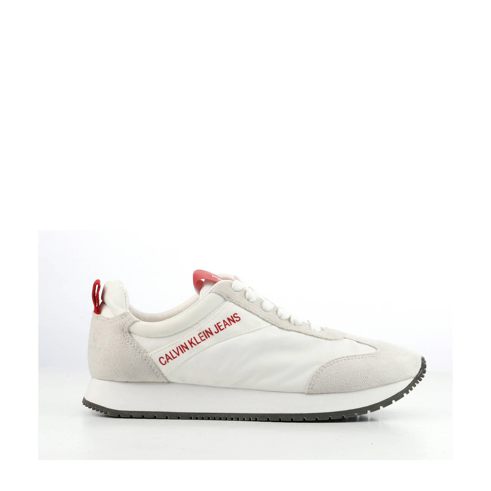 1af6336efadb20 Calvin Klein Jeans Jill sneakers wit | wehkamp