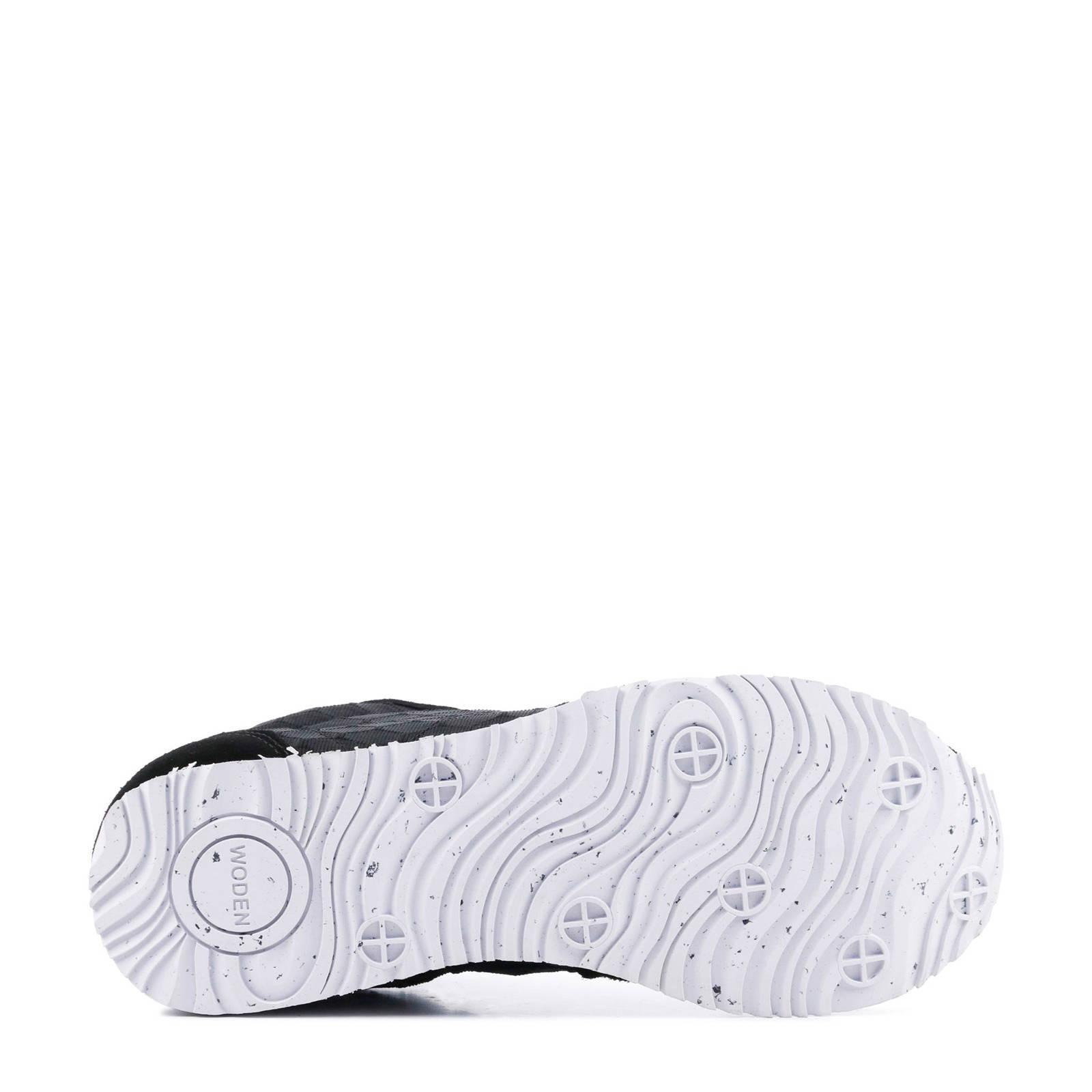 961788e8907 Woden Nora II Mesh sneakers zwart | wehkamp