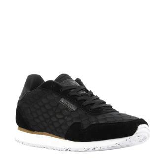 Nora II Mesh sneakers zwart