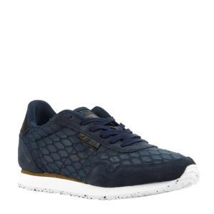 Nora II Mesh sneakers donkerblauw
