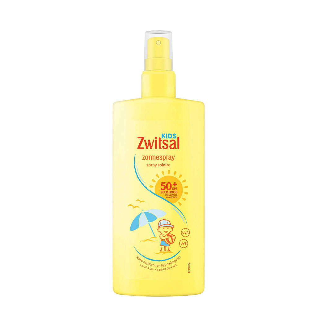 Zwitsal Kids zonnebrandspray SPF50+ 200 ml