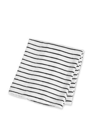 wikkeldeken Black Stripes