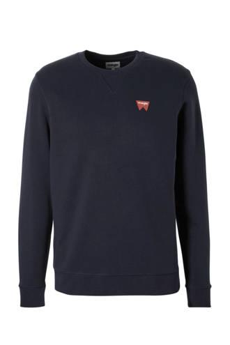 sweater met logo print