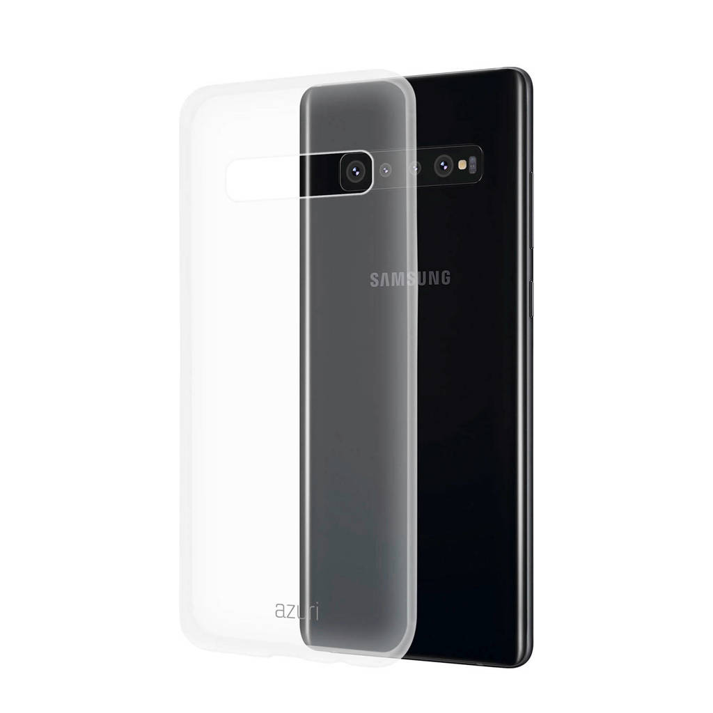 Azuri Galaxy S10+ backcover, Transparant