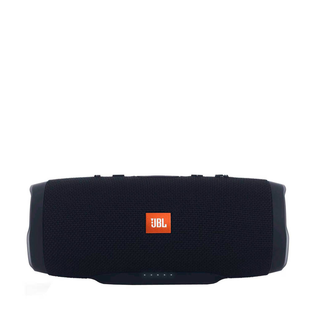 JBL   bluetooth speaker Charge 3 Stealth Edition zwart, Zwart