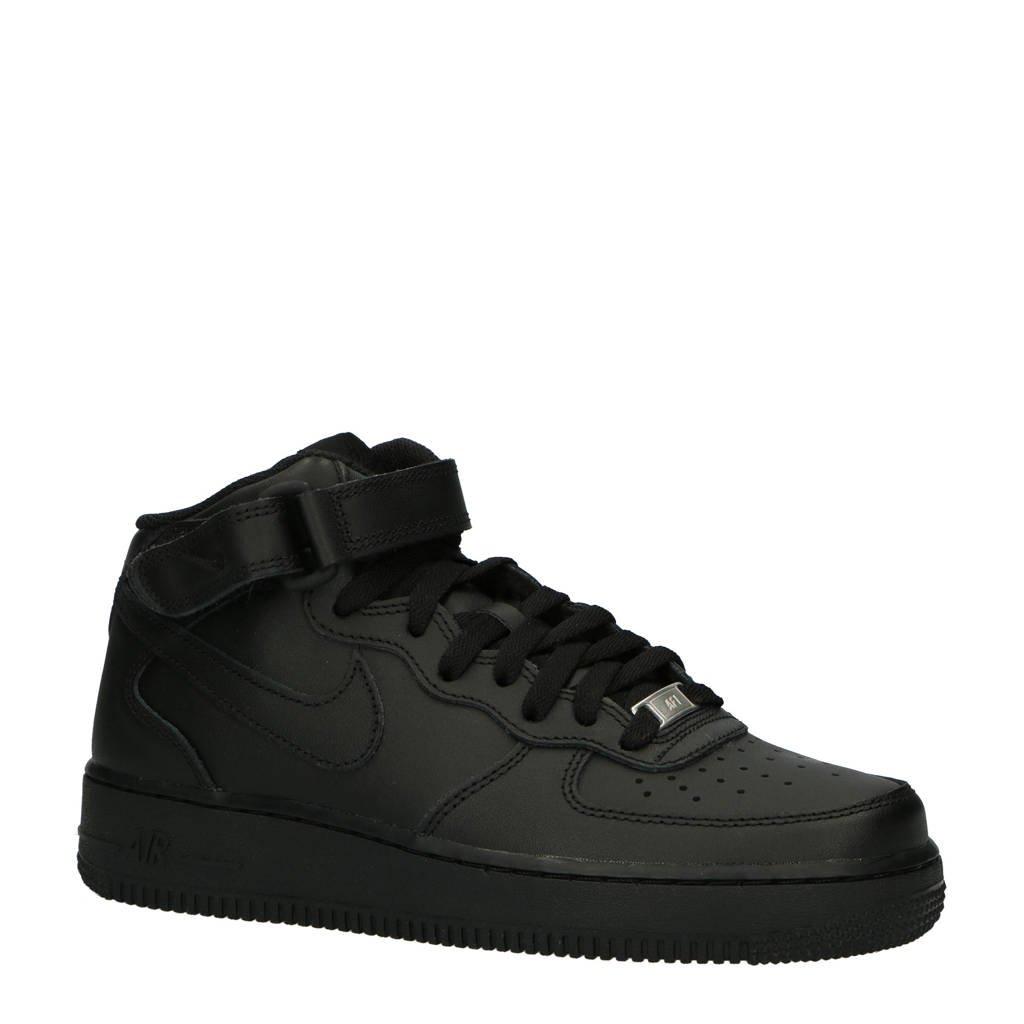 Nike  Air Force 1 Mid '07 sneakers zwart, Zwart