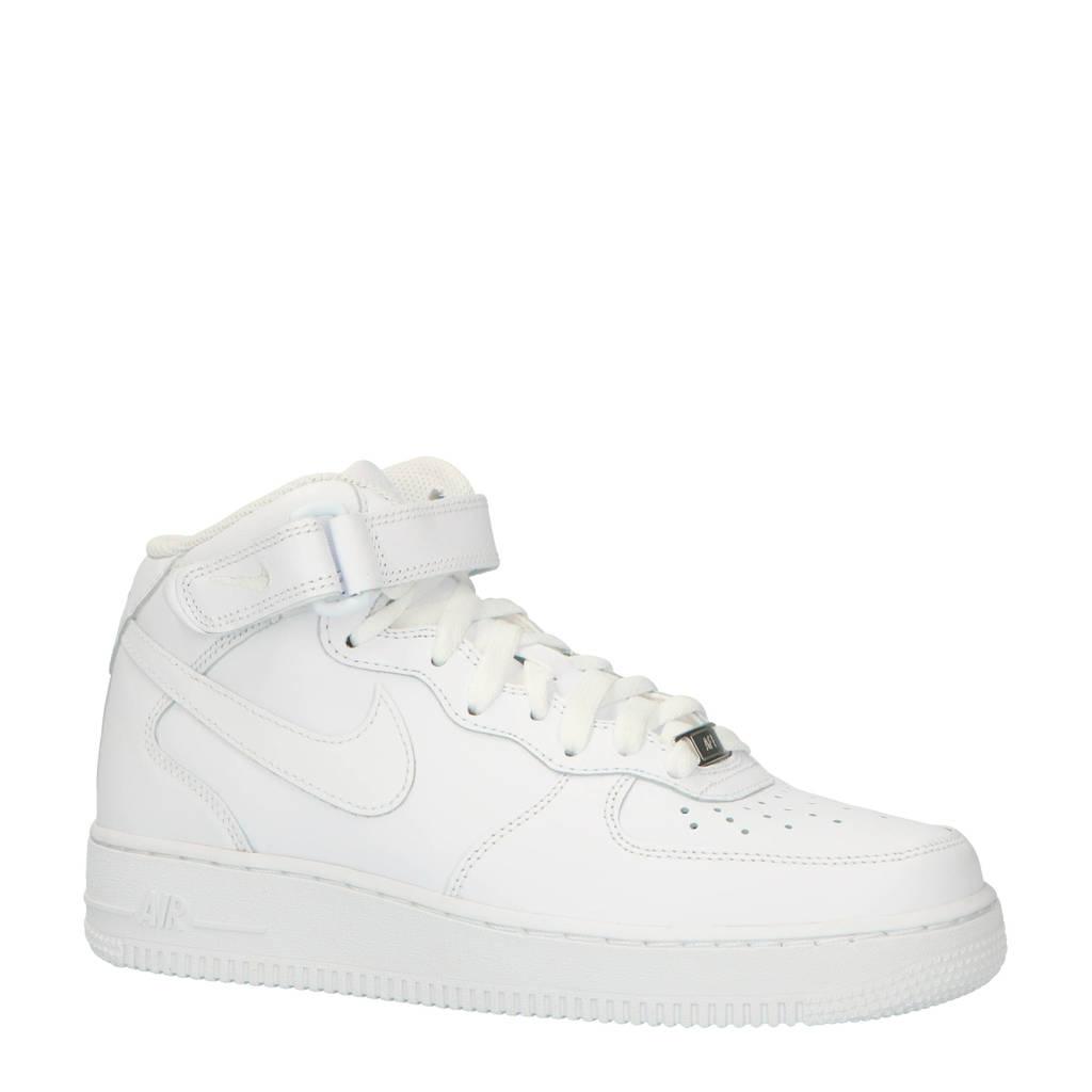 Nike  Air Force 1 Mid '07 sneakers zwart, Wit