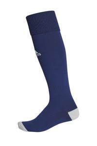 adidas Performance Junior  voetbalsokken Milano 16 donkerblauw, Donkerblauw/lichtgrijs