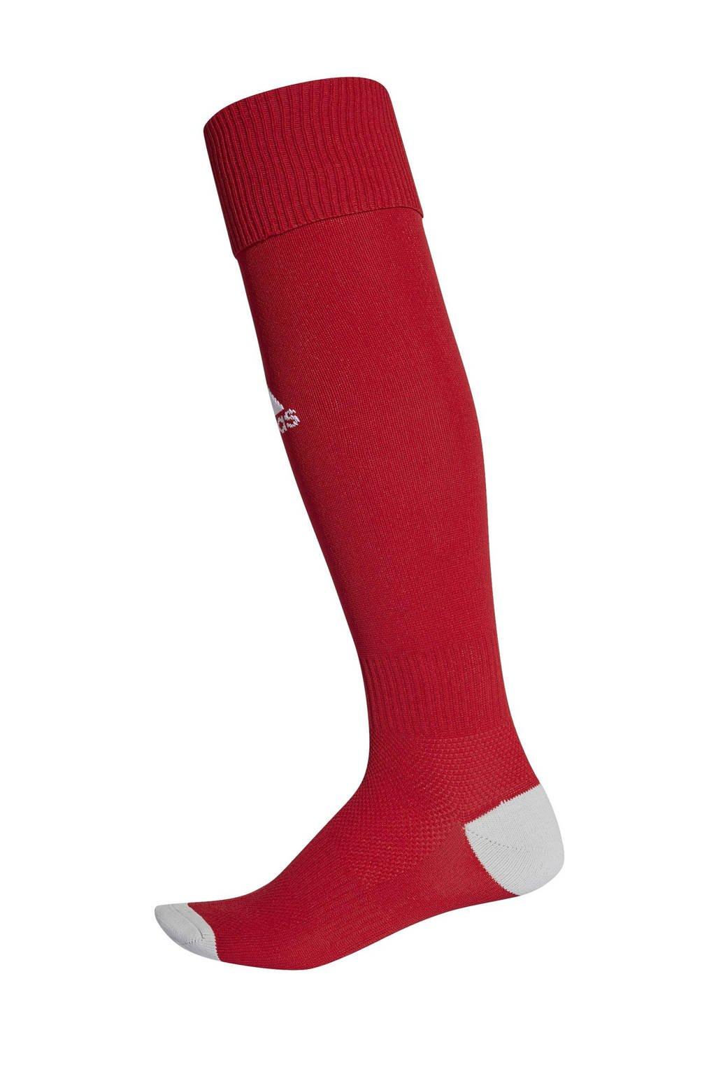 adidas performance Junior  Milano 16 voetbalsokken rood, Rood/lichtgrijs