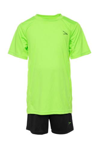 Dutchy   sportset groen/zwart