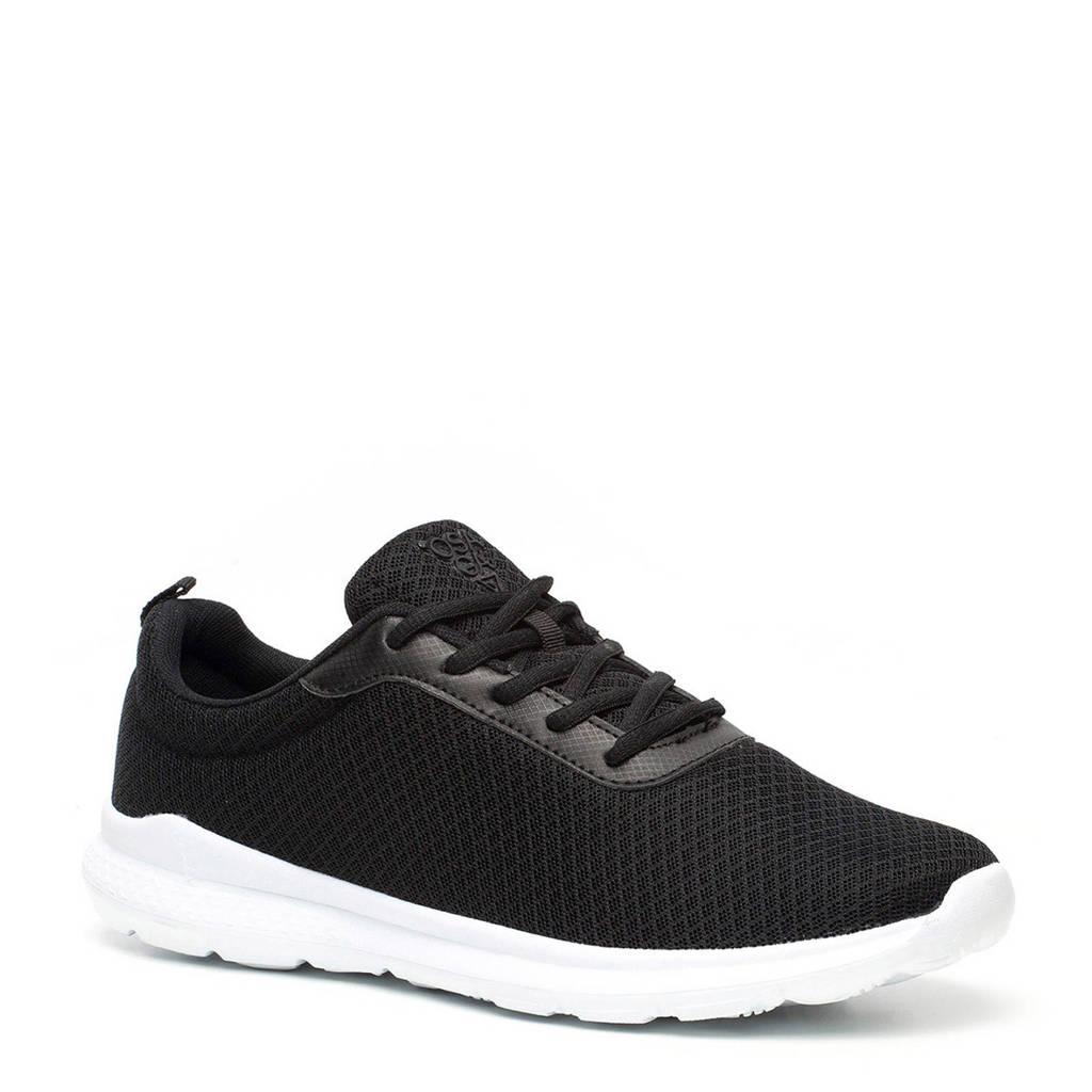 Scapino Osaga   sneakers zwart, Zwart