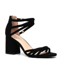 Scapino Nova   sandalettes zwart, Zwart