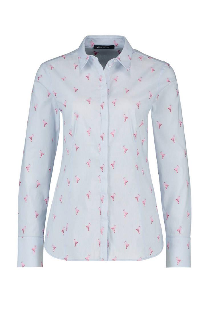 flamingo Expresso Xiebe blouse print met fpatwxZp