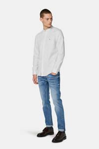 WE Fashion Blue Ridge slim fit overhemd wit, Wit
