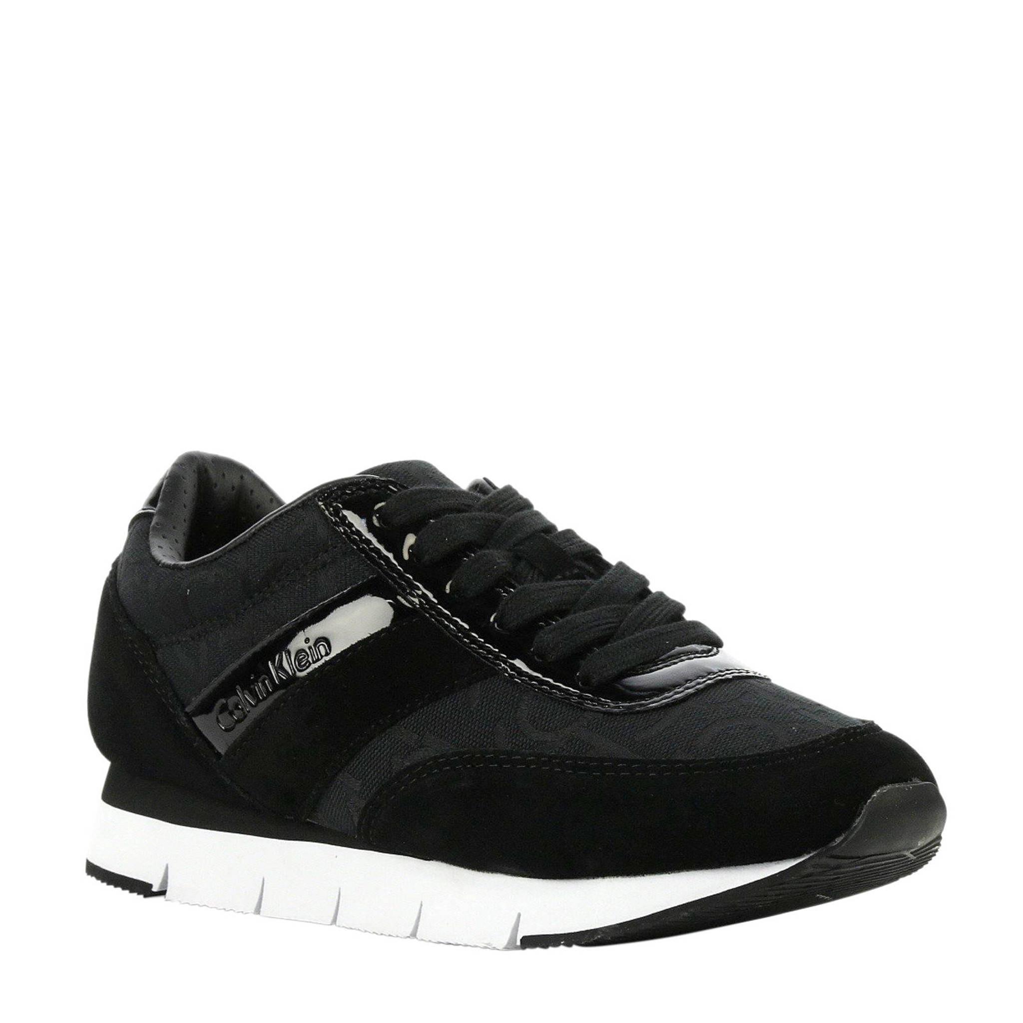f566989841f Calvin Klein Jeans Tea sneakers zwart | wehkamp