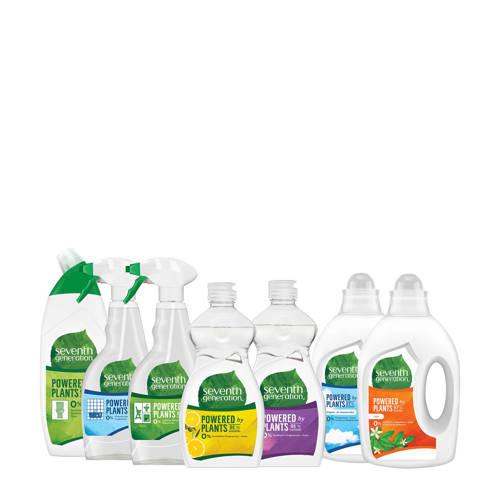 Seventh Generation schoonmaakmiddel en wasmiddel pakket 7-delig kopen