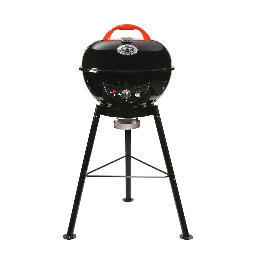 Outdoorchef Chelsea 420 G gasbarbecue, Zwart