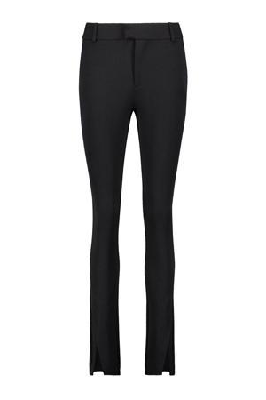 high waist skinny pantalon Pegah zwart