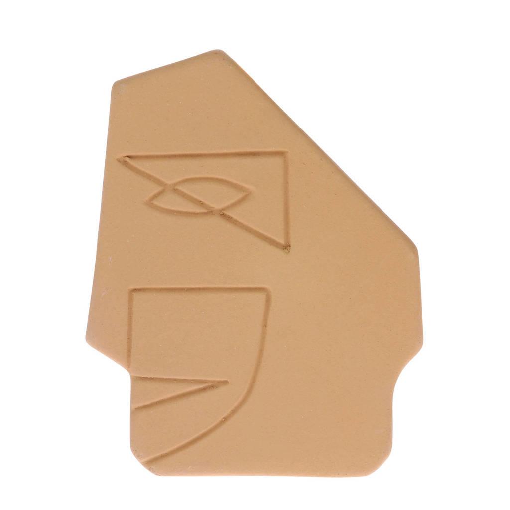 HKliving ornament gezicht (S), Geel