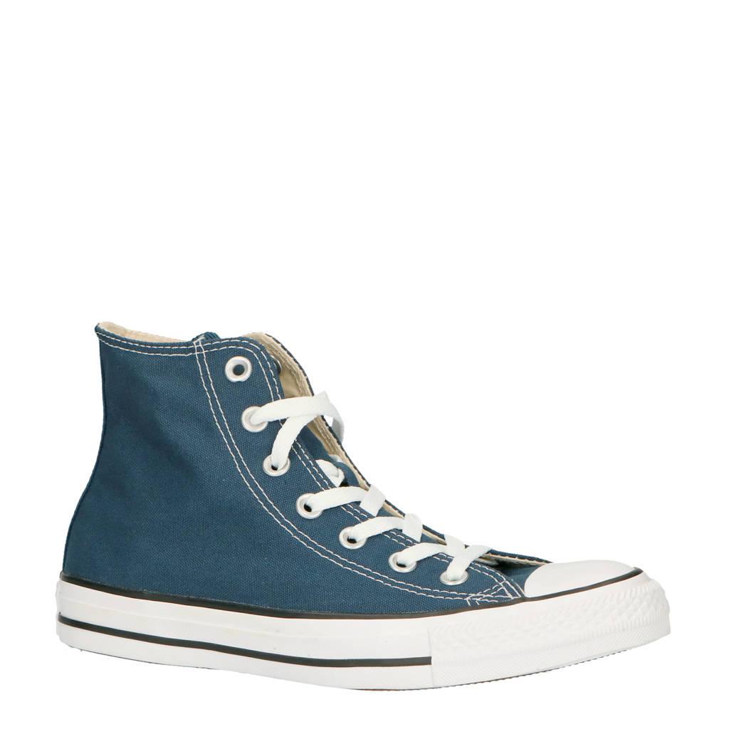 Converse   Chuck Taylor All Star Classic Hi blauw, Blauw/wit
