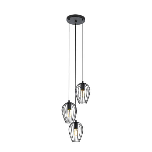 EGLO hanglamp Newtown zwart