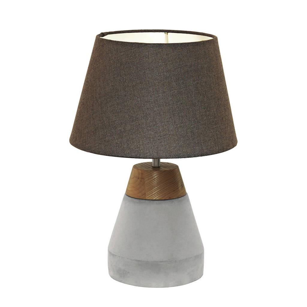 EGLO tafellamp Tarega, bruin/grijs/bruin
