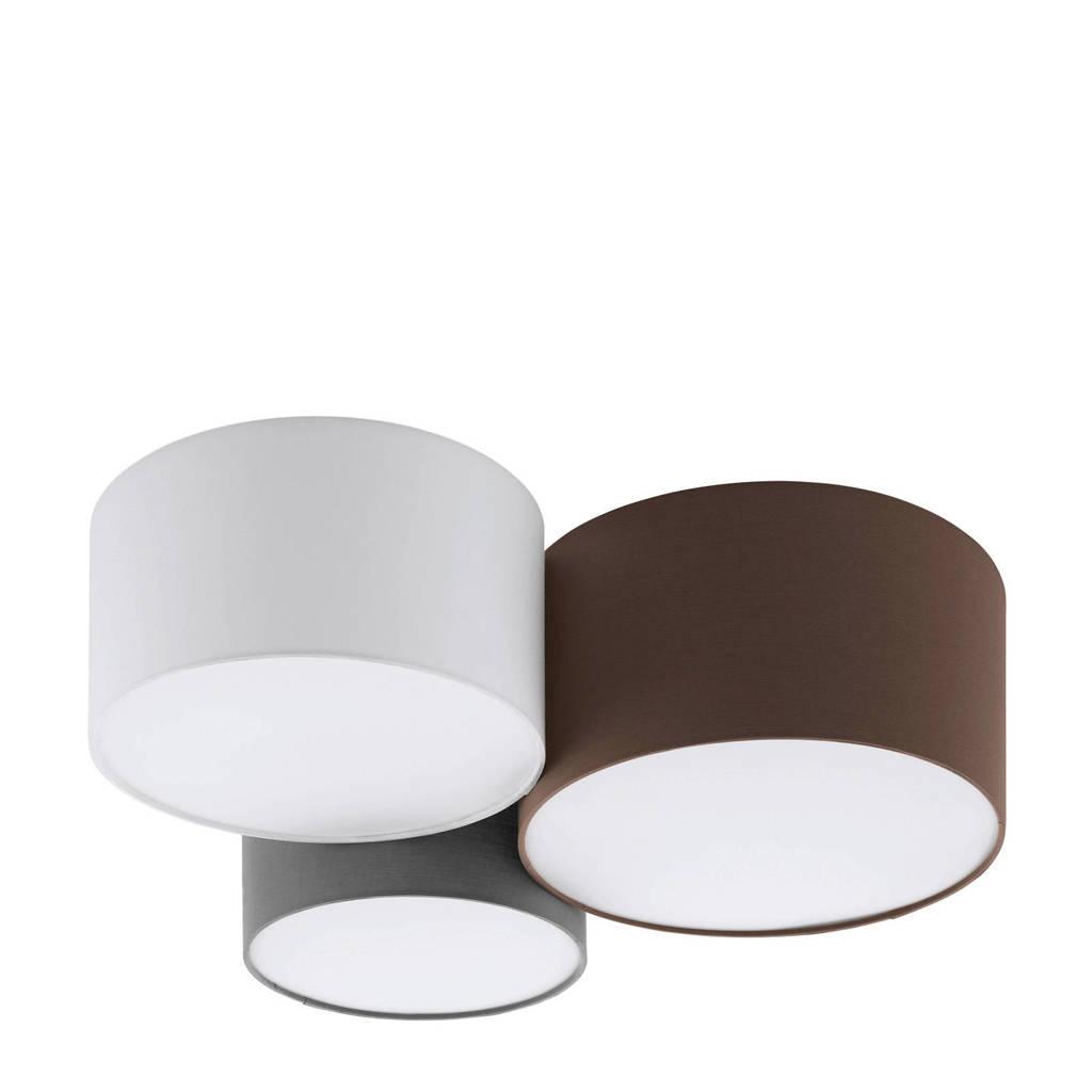 EGLO plafondlamp, Wit/bruin
