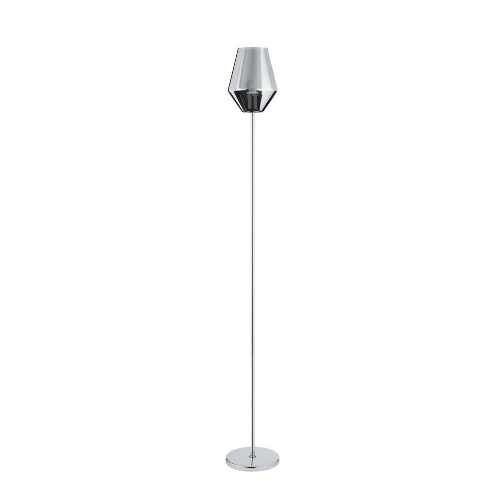 EGLO vloerlamp, Chroom/