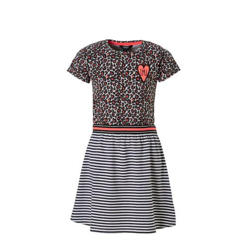Little Miss Juliette jurk met all over print roze kopen