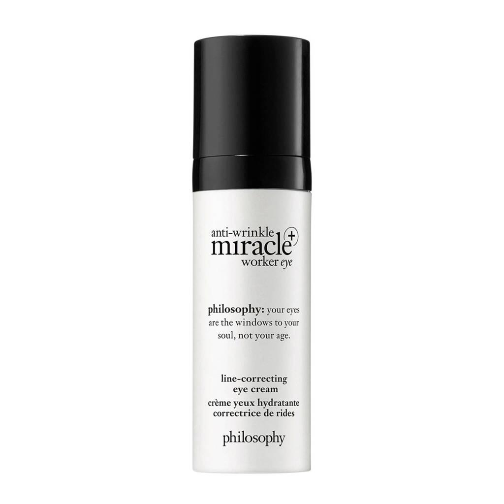 philosophy anti-wrinkle miracle worker oogcrème - 15 ml