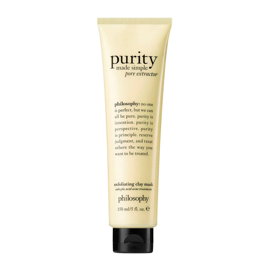 philosophy purity made simple exfoliating clay masker -  75 ml