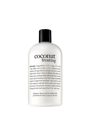 bath coconut frosting douchegel -  480 ml