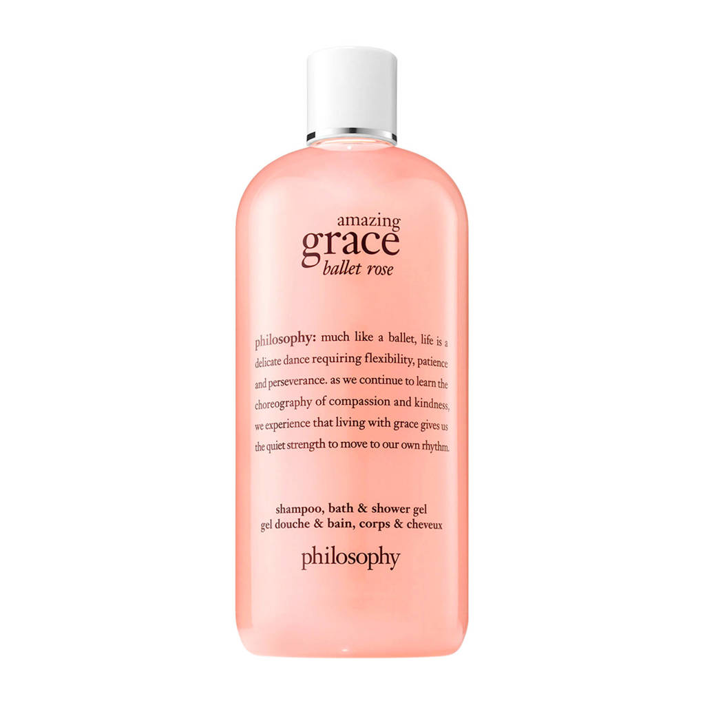 philosophy amazing grace ballet rose douchegel -  480 ml