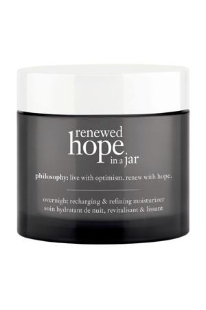 refreshing & refining moisturizer nachtcrème - 60 ml