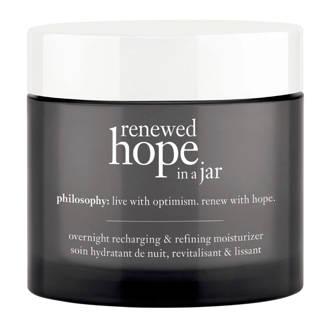 renewed hope in a jar refreshing & refining moisturizer nachtcrème - 60 ml