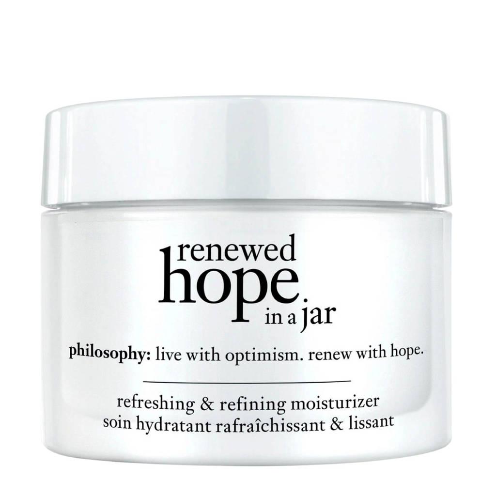 philosophy renewed hope in a jar refreshing & refining moisturizer - 60 ml, Nee