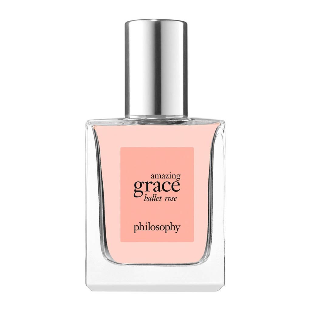 philosophy amazing grace ballet rose eau de toilette  - 15 ml