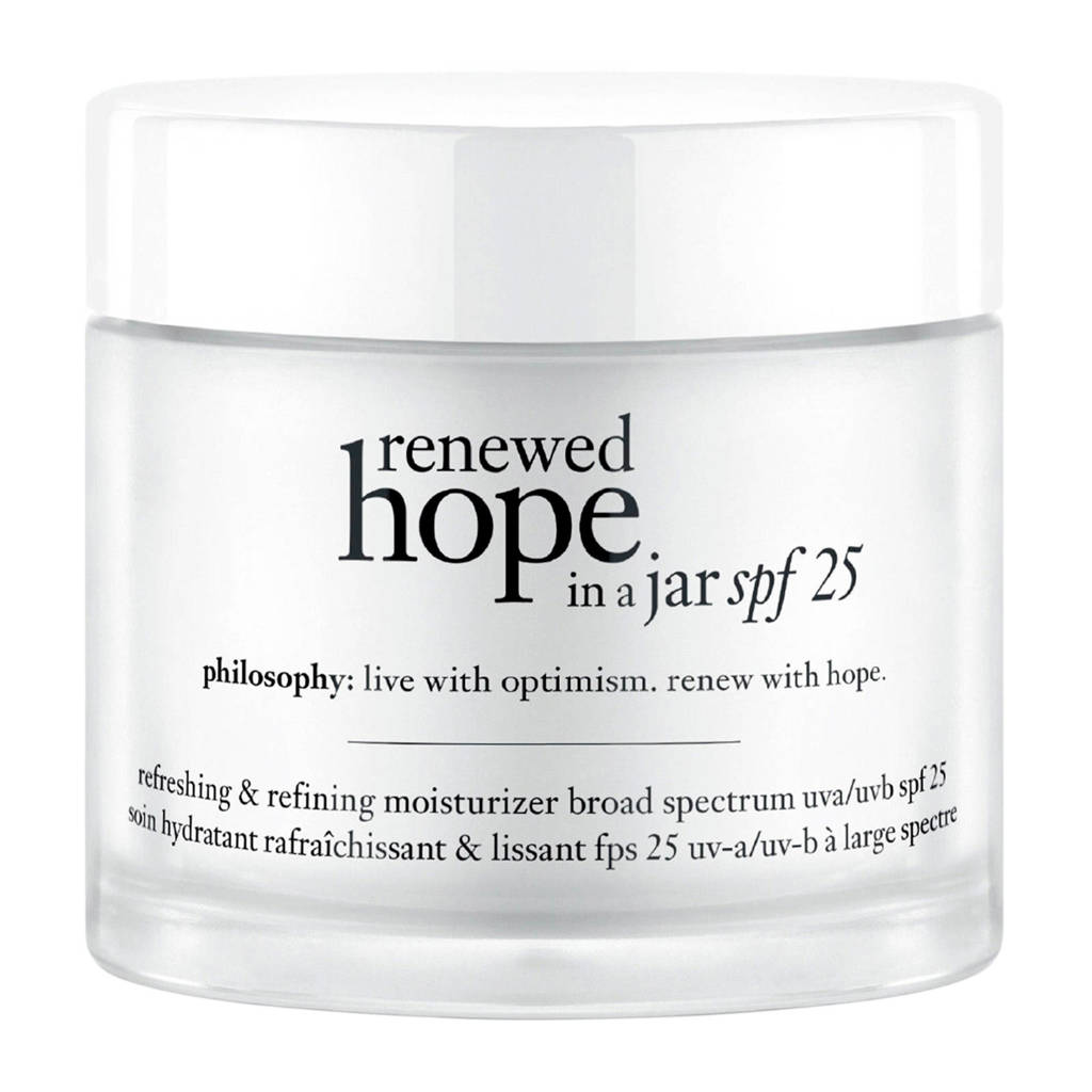 philosophy renewed hope in a jar refreshing & refining spf 25 dagcrème - 60 ml, Ja