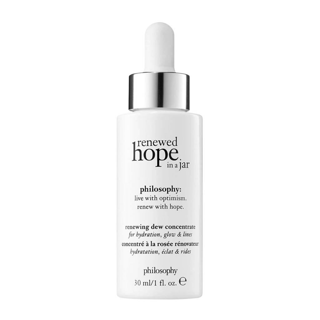 philosophy renewed hope in a jar dew concentrate serum - 30 ml
